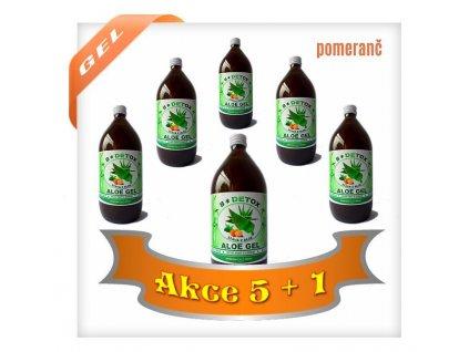 Aloe GEL na Detoxikaci  AKCE 5+1 ZDARMA