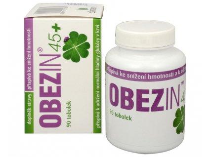 Cenově výhodné balení Obezin 45+ - 2 x 90 tobolek