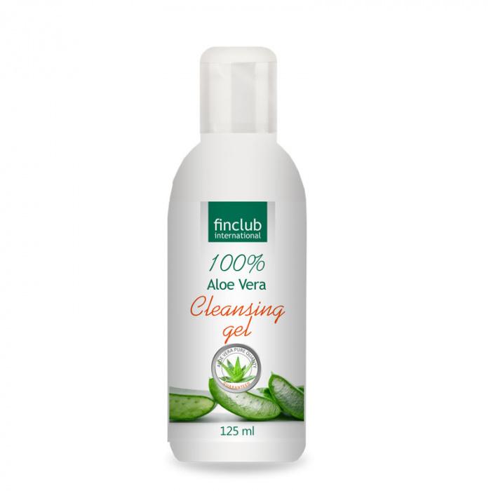 Bio-Detox Aloe Vera CLEANSING gel - čisticí pleťový gel s Aloe Vera
