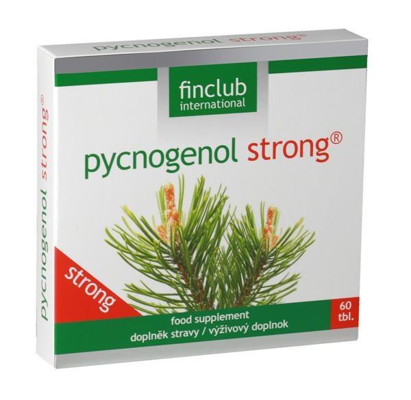 finclub Pycnogenol Strong - Výtažek z kůry pobřežní borovice