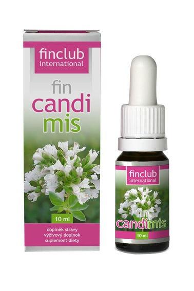 finclub fin Candimis 10ml obsahuje olej z oregana,