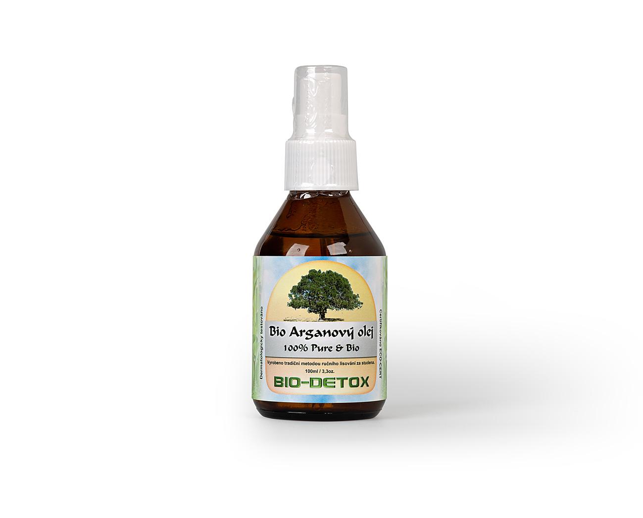 Bio-Detox Bio Arganový olej 6 x 100ml 5+1 ZDARMA