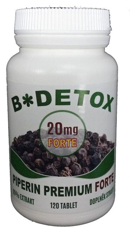 Bio Detox Piperin Premium FORTE 20mg 120tbl.