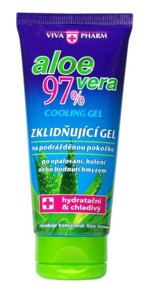 Levně Zklidňující gel s Aloe vera 97% VIVAPHARM