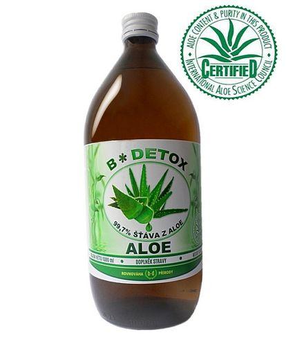 Bio-Detox Šťáva z Aloe 99,7% 1000 ml