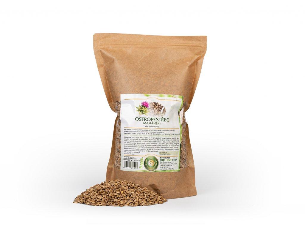 Bio-Detox Ostropestřec Mariánský semínka 500g