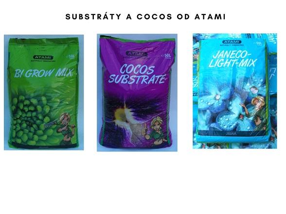 Atami substráty