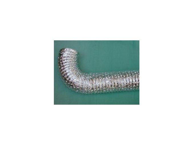 Aluflex - ohebné potrubí z aluminiové folie
