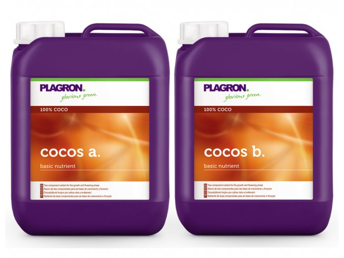 Plagron Cocos A+B 5l hnojivo pro kokos