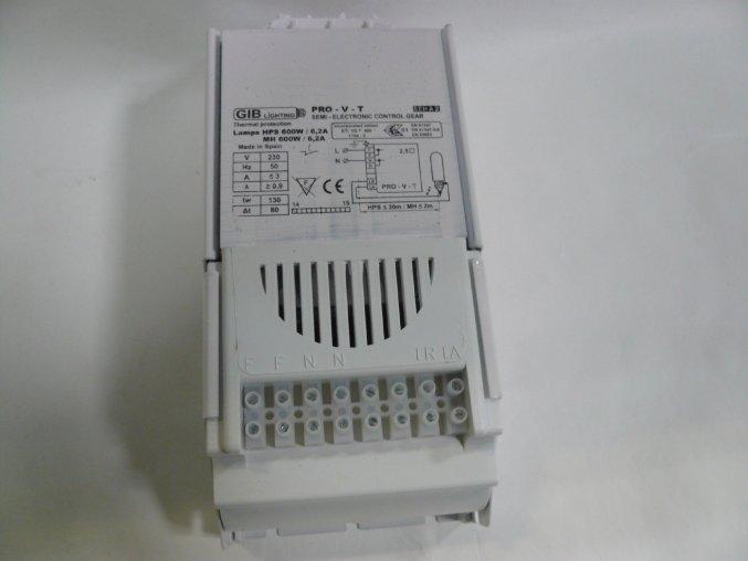 Elektromagnetický předřadník GIB PRO-V-T 600W