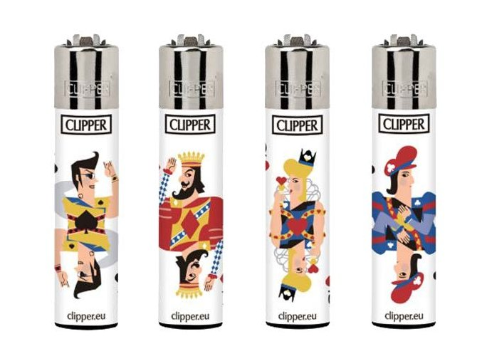 Zapalovač Clipper Spades