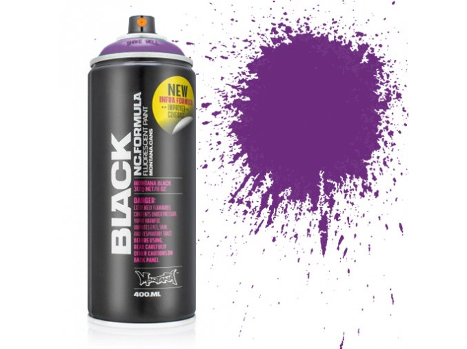 Montana black Infra violet 400 ml 4500