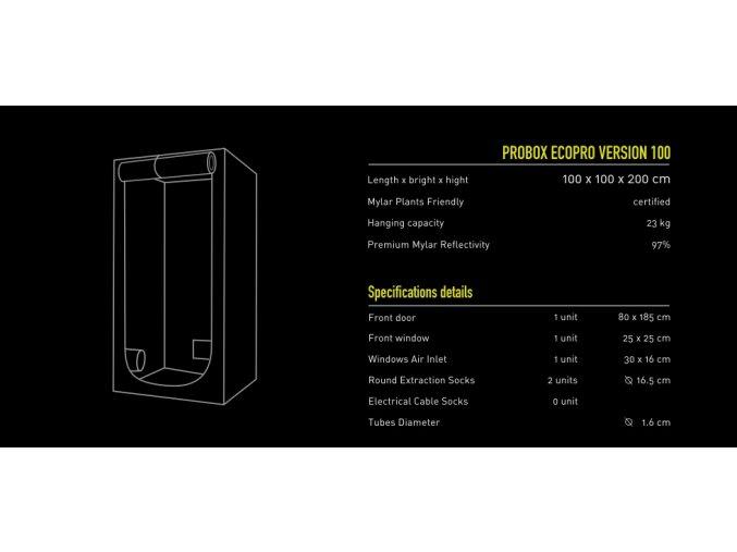 PROBOX 100 X 100 X 200cm