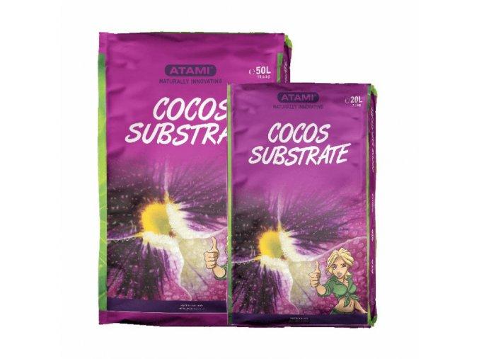 Atami kokosový substrát 50l