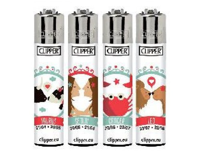 Zapalovač Clipper Horoscope 8