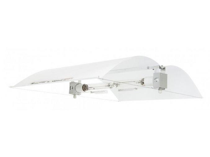 Stínidlo Adjust-A-Wing DEFENDER L2, na 2 lampy, včetně 2ks malých rozptylek