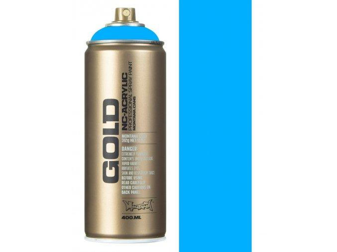 montana gold f5000 flourescent flame blue spray paint 400ml p2629 51535 image
