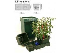 Autopot Easy2grow Kit 2 květináče nádrž 47 L