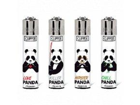Zapalovač Clipper Killer Panda