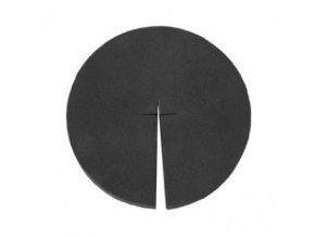 Molitanová krytka pro hydroponické košíčky - 80mm