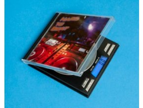 VÁHA SQUARE CD SCALE 100G/0,01G ČERNÁ