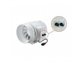 Ventilátor TT 315 PRO U s termostatem 1760/2350m3/h