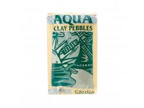 aqua clay pebbles