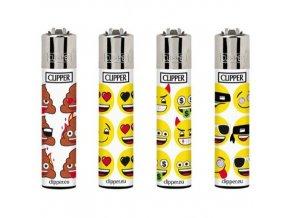 Zapalovač Clipper Emoji print