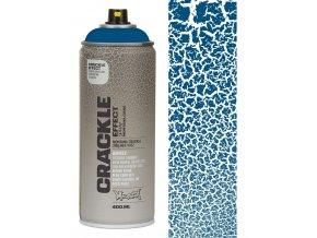montana gold gentian blue crackle effect spray paint 400ml p13573 53100 image