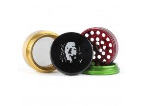 Drtička Bob Marley rasta 50mm