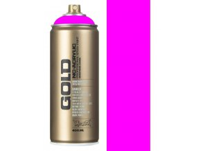 montana gold f4000 flourescent gleaming pink spray paint 400ml p2628 51531 image