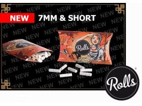 Filtry Rolls 50ks shorties
