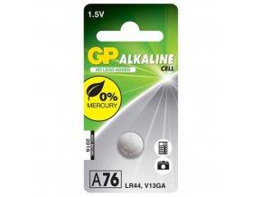 gp a76 ag13 lr44 alkalicka knoflikova baterie 1 5v 500x500
