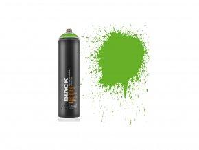 black 600 power green