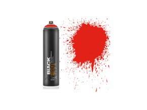 black 600 power red