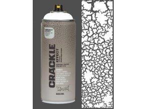 Montana Crackle Pure white 400ml