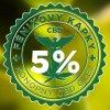 FÉNIXOVY KAPKY, CBD OLEJ 5% 10 ML, BEZ AROMA