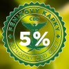 FÉNIXOVY KAPKY, CBD OLEJ 5% 10 ML, AROMA VANILKA