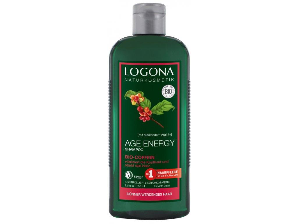 306 logona bio age energy sampon s kofeinem 250ml