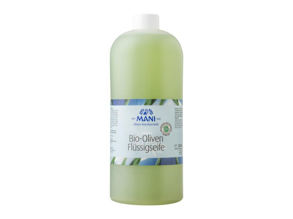 420 mani bio olivove tekute mydlo na doplneni 1000ml