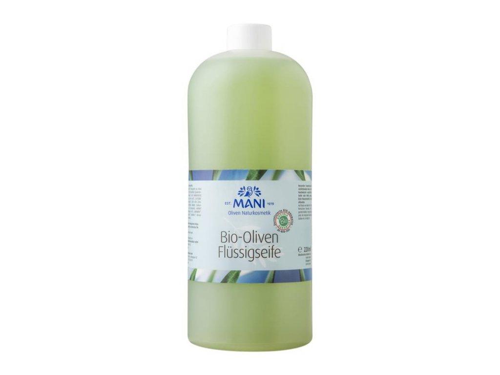Mani Olivové tekuté mýdlo na doplnění 1000ml