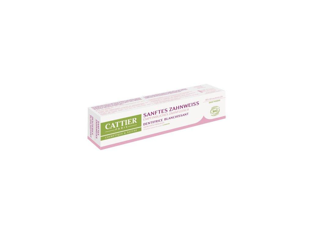 Cattier Zubní pasta bělící 75ml