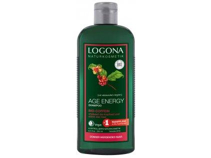 Logona Age Energy Šampon s kofeinem 250ml