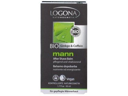 330 logona mann bio balzam po holeni ginko kofein 50ml