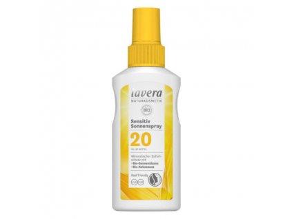 Lavera Opalovací sprej Sensitiv SPF20 100 ml
