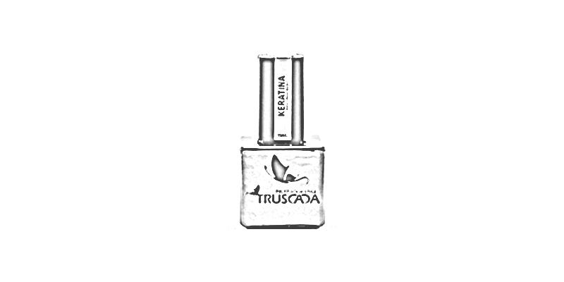 Manikúra a aplikace zpevňujícího keratinového průhledného gel laku Truscada - hypoalergenní