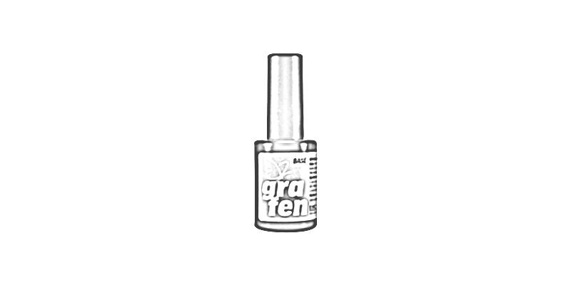 Podkladový gel lak na hodně poškozené nehty