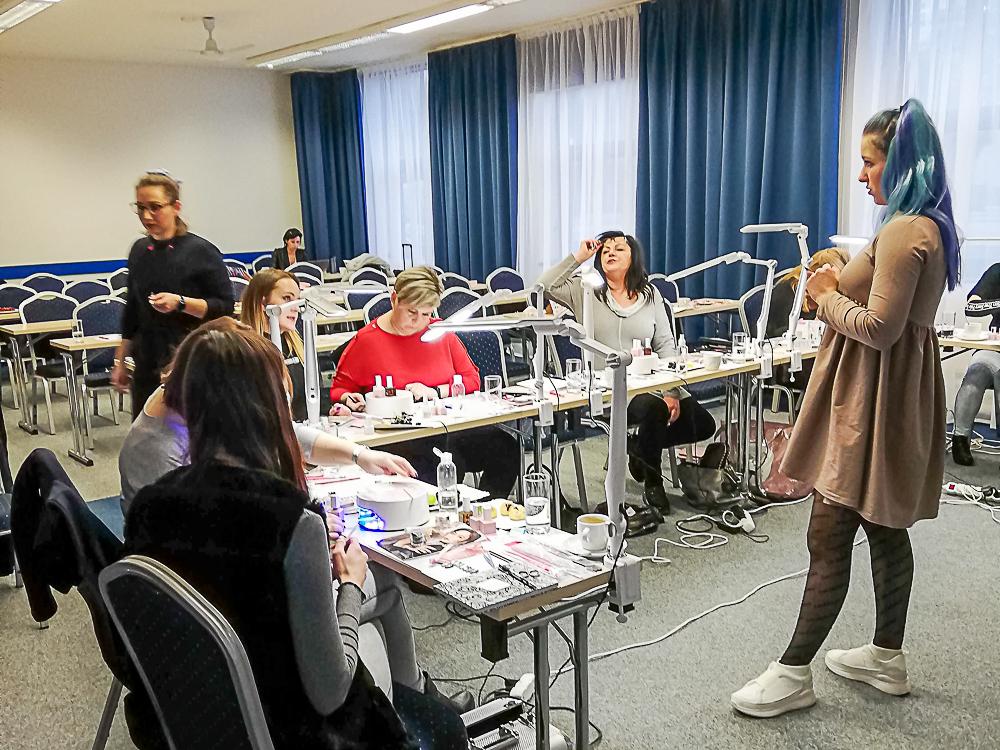 E.Mi školení - TOP zdobení na hotelu Moskva ve Zlíně
