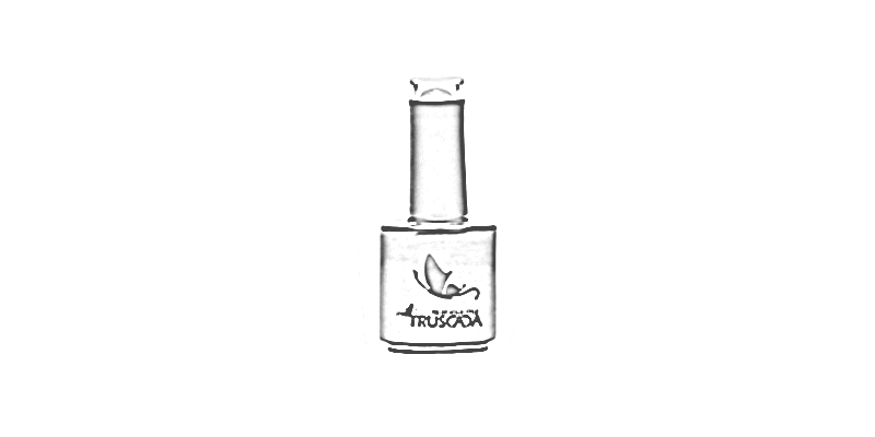 Manukúra a aplikace gel lakového systému TRUSCADA - hypoalergenní