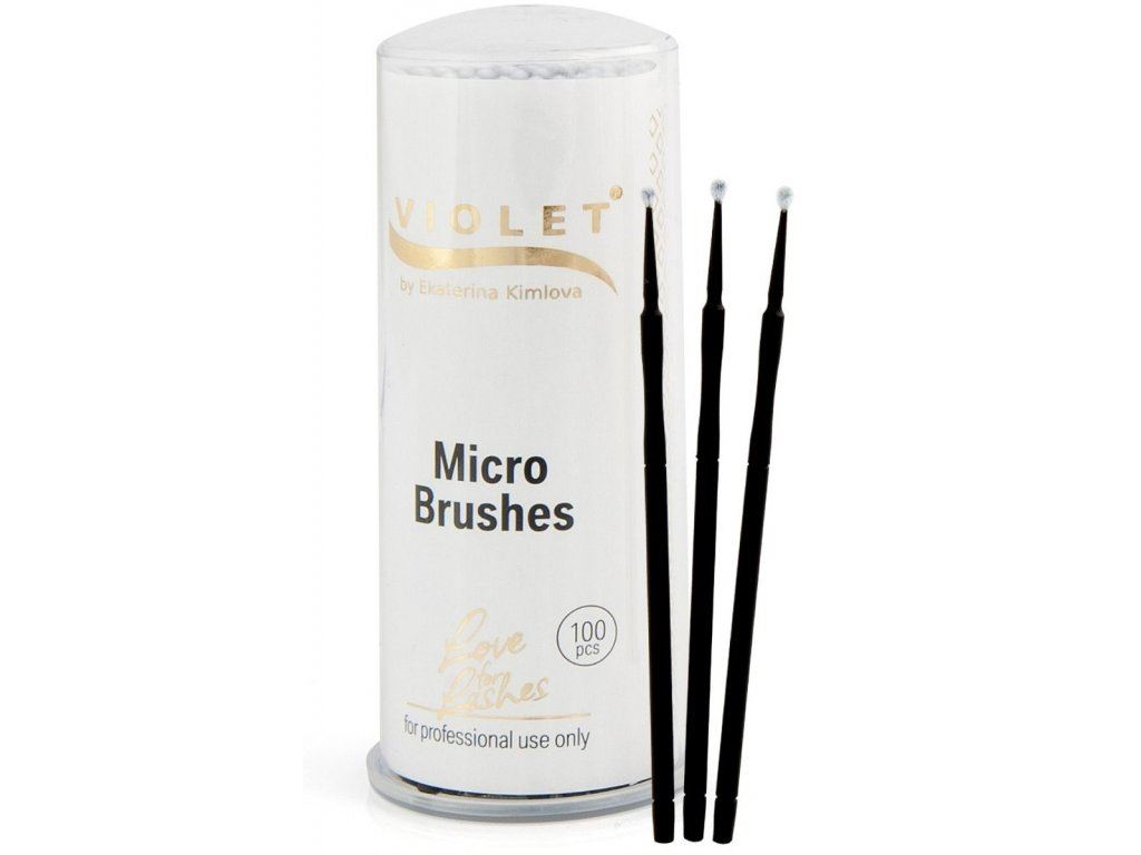 violet micro brushes